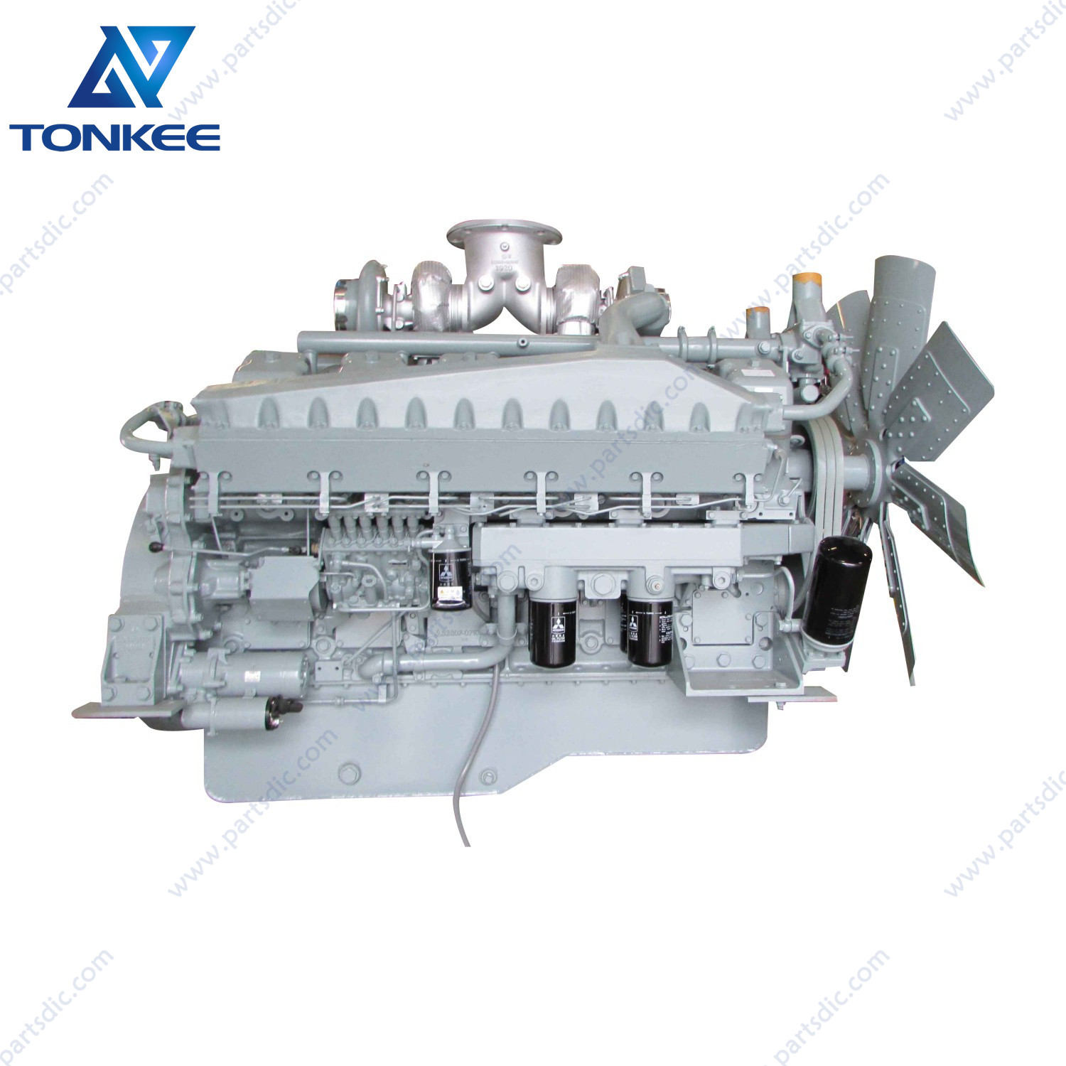EX1900 EX1900-5complete diesel engine assy 9237308 S12A2 S12A2-Y1TAA1 S12A2-PTAdiesel engine assy Shovel excavatorsuitable forHITACHI