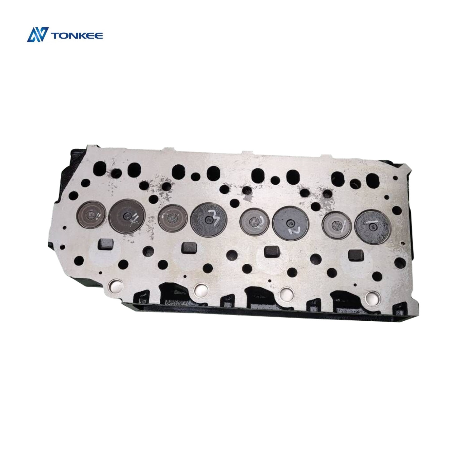 new domestic cylinder headS4Scylinder head assy suitable forMitsubishi S4Sexcavator