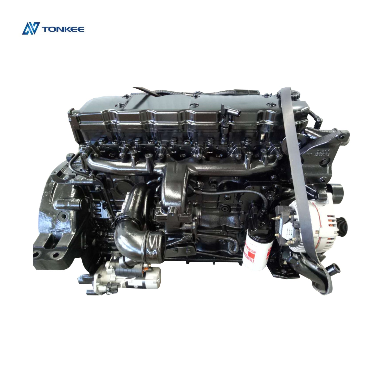 QSB6.7 260hp 194kWnew diesel engine assy excavatorPC210-8 SAA6D107E-1complete engine assembly PC200-8engine assyfor KOMATSU