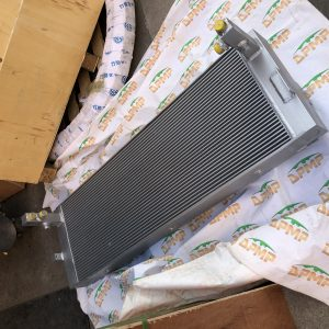 brand new earthmoving machinery aftermarket parts 11LH-30040 radiator cooler HL780-7A 1221E wheel loader radiator assy cooler suitable for HYUNDAI
