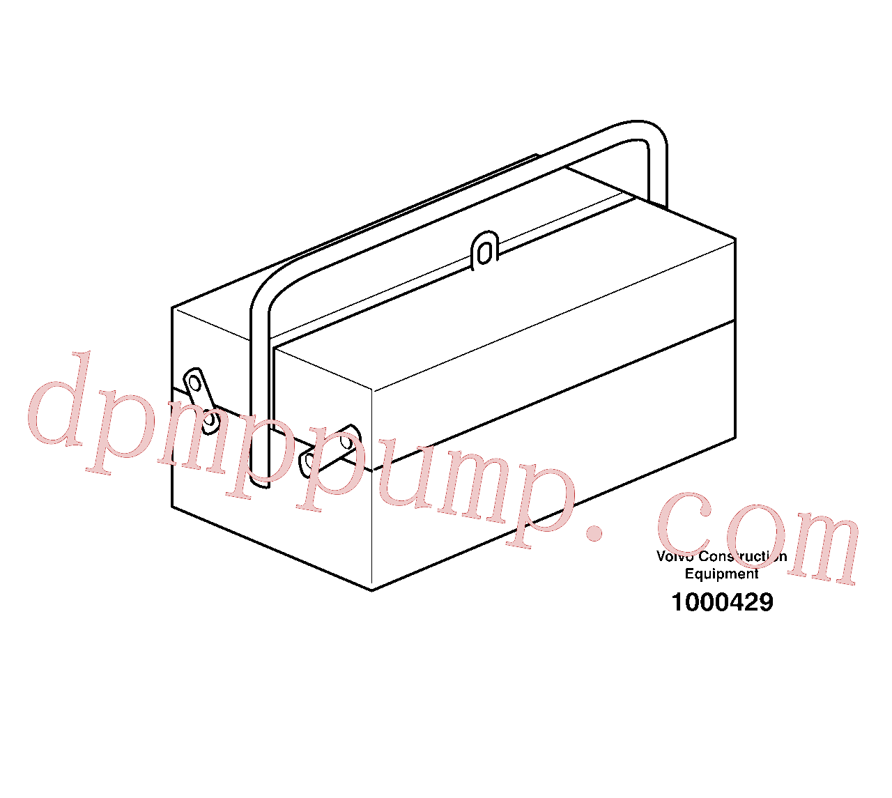 VOE14013363 for Volvo Tool kit(1000429 assembly)