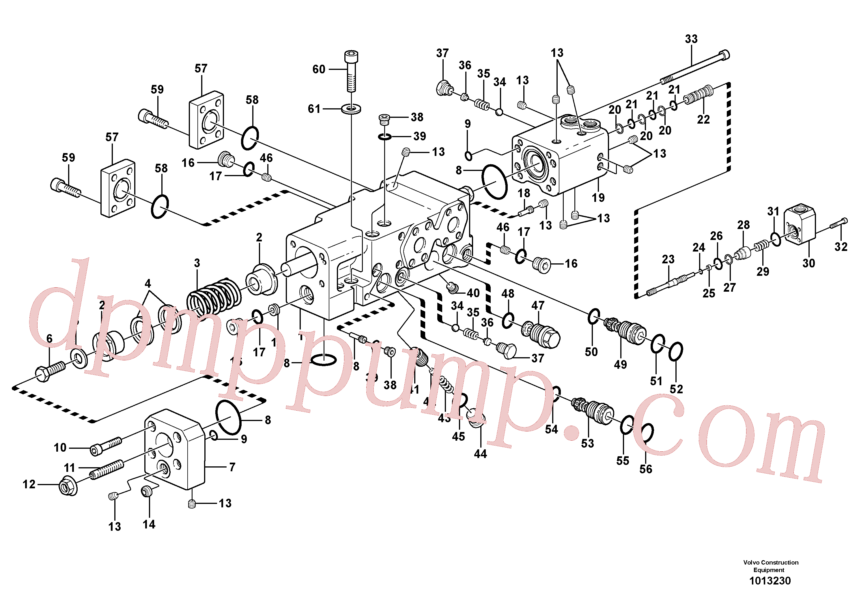VOE11711006 for Volvo Control valve(1013230 assembly)