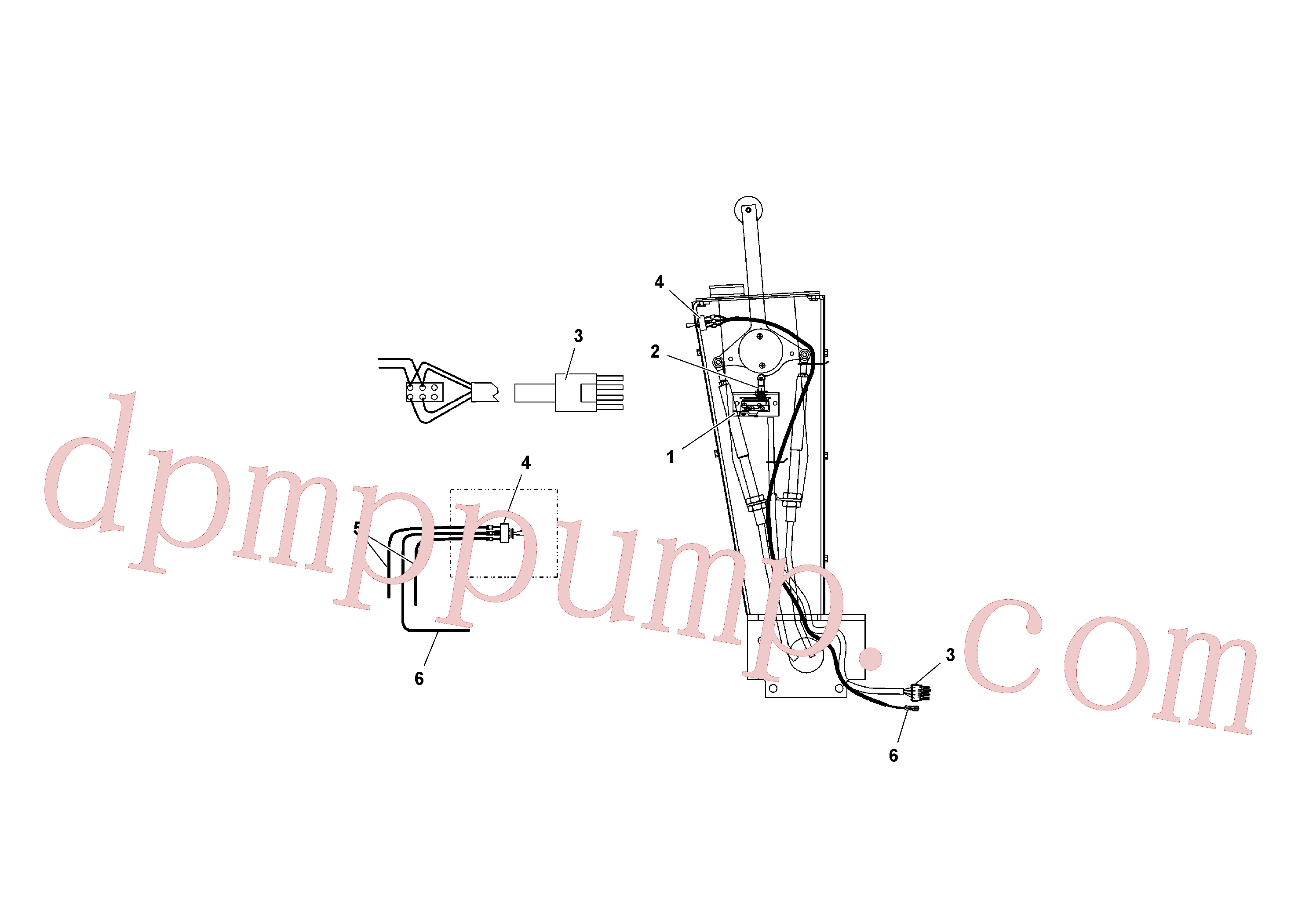RM20934212 for Volvo Traction Control Wiring(1040720 assembly)