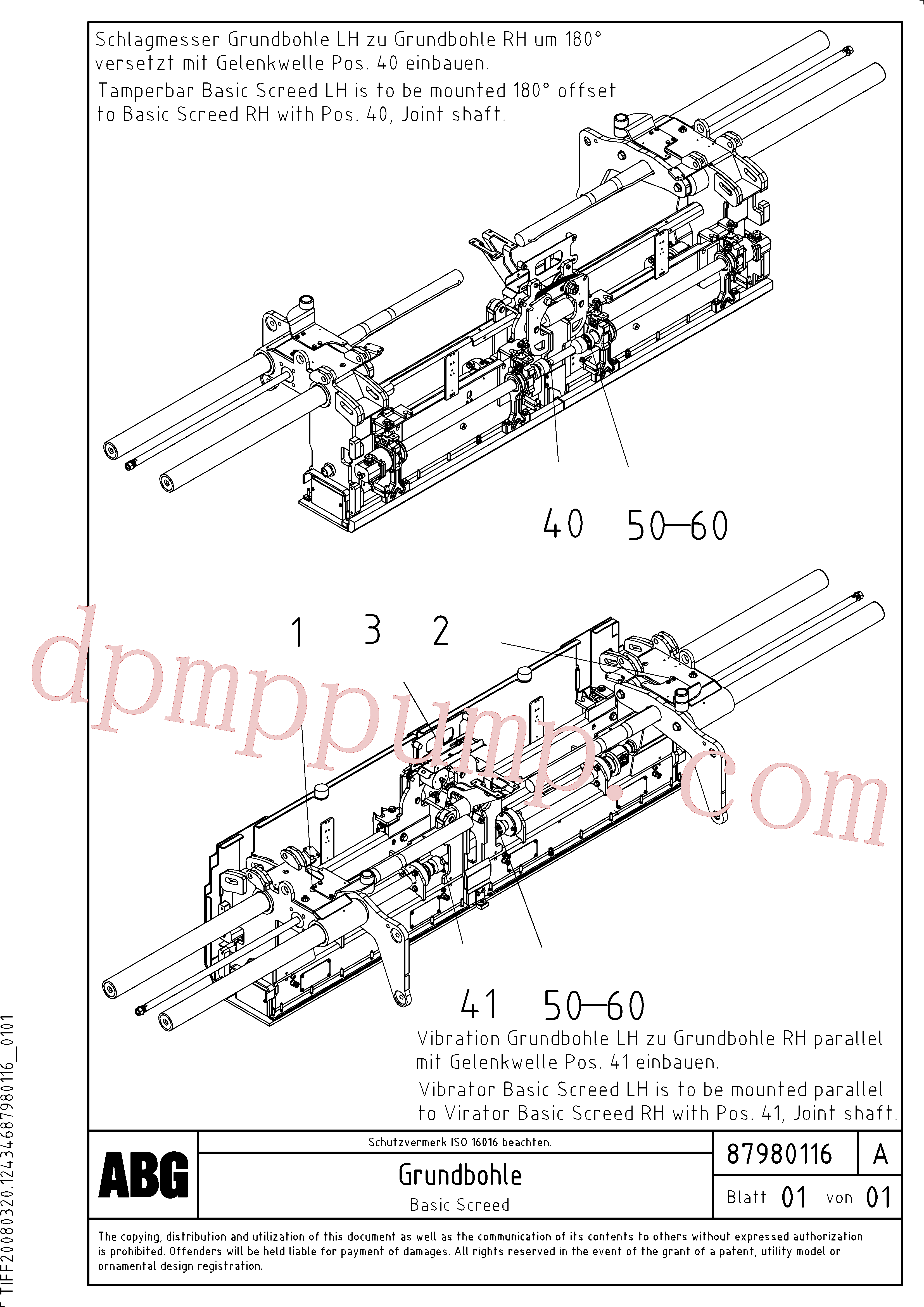 RM80870249 for Volvo Basic screed and crown control(1048235 assembly)