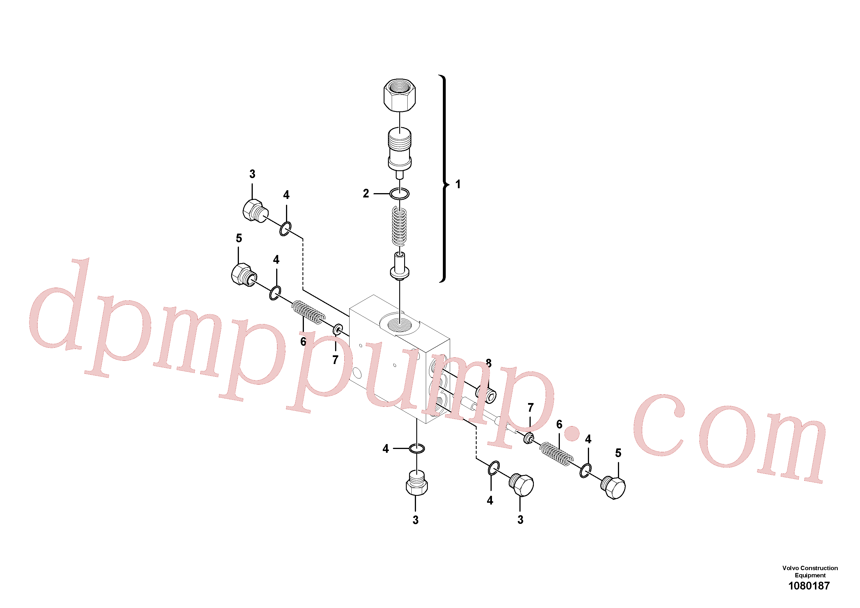 RM59698811 for Volvo Loop Flushing Valve Assembly(1080187 assembly)